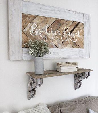40 Popular Rustic Wooden Decor Ideas Match For Farmhouse Home Design