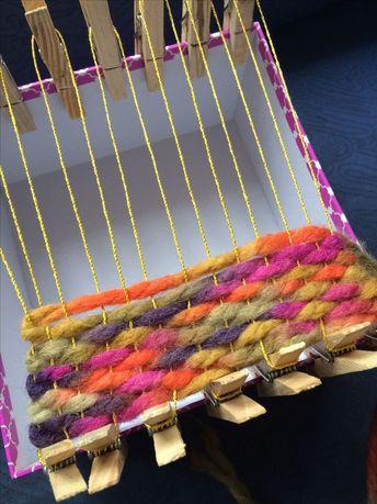 Teppich knüpfen/ weben für das Puppenhaus. - #das #für #Knüpfen #Puppenhaus #Teppich #weben