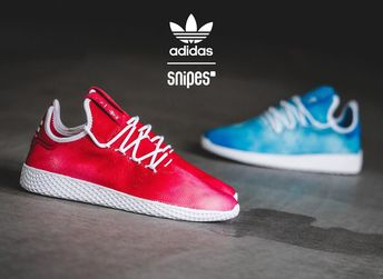 finest selection b0a0b 7ab59 Adidas Tennis HU Holi Red (dégradé rouge) on feet (2018)