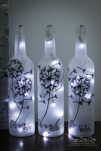 Decorative Bottles : I have had this project in mind for several months. I finally bit the bullet and...