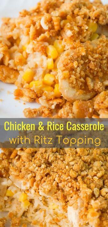 Easy Chicken and Rice Casserole   Delicious Recipe #casserole #chickenfoodrecipes