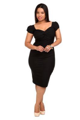 853078044e3 Plus Size Stop Staring! - Red Billion Dollar Baby Dress ima