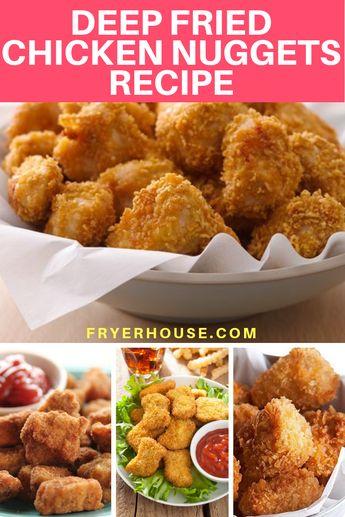 Deep Fried Chicken Nuggets Recipe