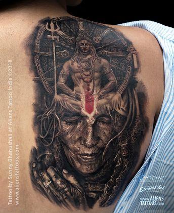 5189ec622382a Aghori Shiva Tattoo by Sunny Bhanushali at Aliens Tattoo, India Our  super-powered team