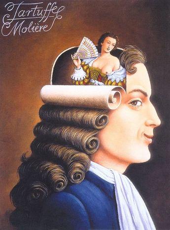 Rafal Olbinski – Tartuffe Molière