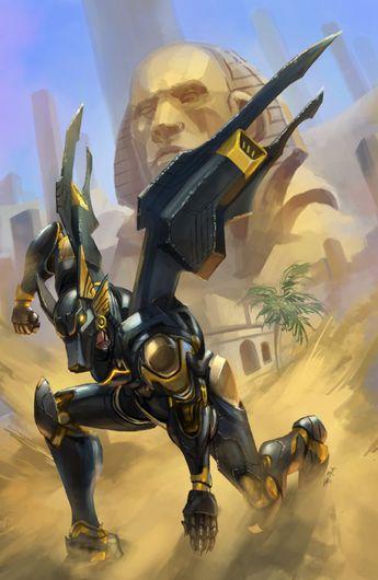 Fareeha Amari the Queen of Anubis