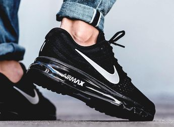 "unstablefragments2: ""Nike Air Max 2017 'Black / White' (via Kicks-daily.com) """