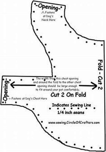 graphic relating to Dog Coat Sewing Patterns Free Printable titled Totally free Printable Doggy Clothing Models