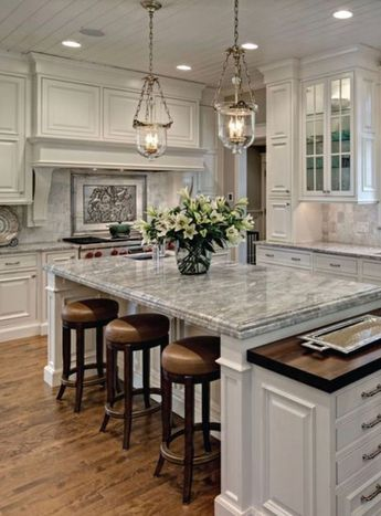 36 Popular Farmhouse Kitchen Color Ideas To Get Comfortable Cooking