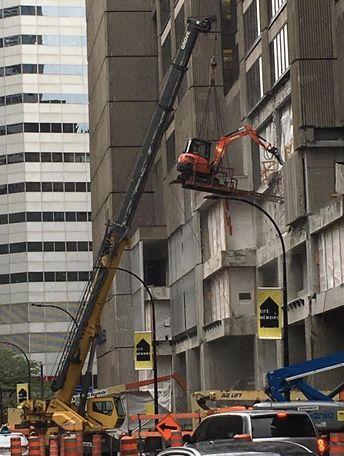 One crane is not enough #forklift #osha #forkliftlicense #forklifttraining #forkliftcertification #forkliftlabs #safety