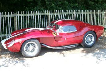 1958 Ferrari 250 Testa Rossa Coupe (very rare) at Goodwood Festival of Speed 2011