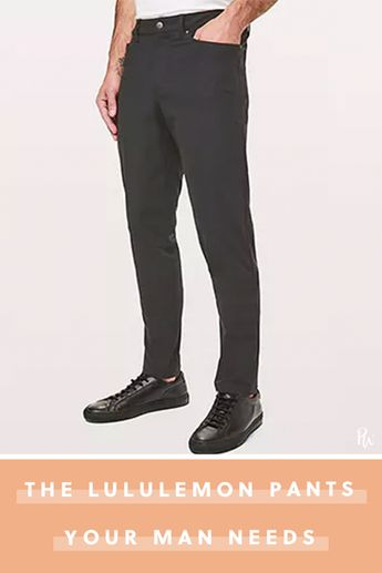 The Men in Your Life Need These Pants, They Just Don't Know It Yet