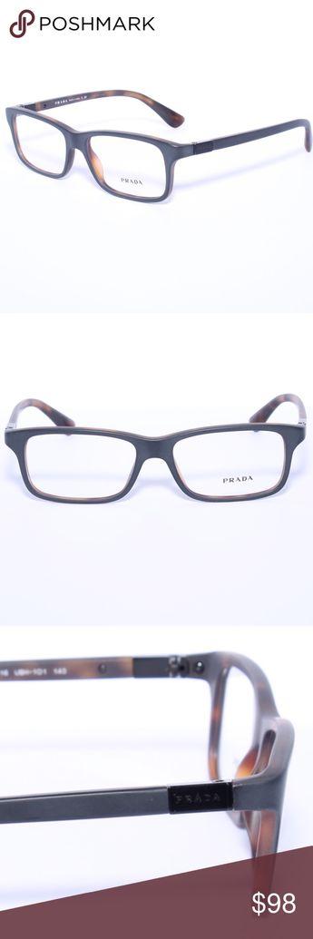 a31e337819ec Prada VPR 06s UBH101 PRADA VPR 06S USD-1O1 Eyeglasses Optical Frames Glasses  Black