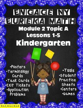 Engage NY/Eureka Math PowerPoint Presentations Kindergarte