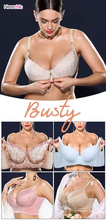 Collection of Plus Size Bras - Only for You