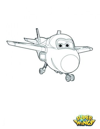 Super Wings Printable Coloring Pages For Girls