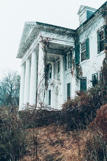 Selma mansion, Leesburg, Virginia. All but the original part of Selma was…