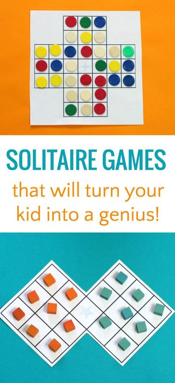 Have Patience! Two Brain-Building Solitaire Board Games