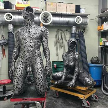 Look At These Amazing Chain Sculpture Created By Young-Deok Seo 서영덕