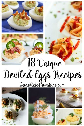 18 Unique Deviled Egg Recipes to Tickle Your Tastebuds