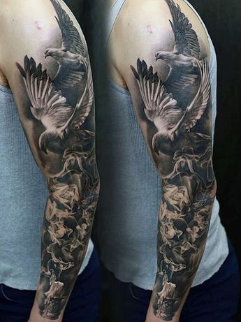 d04859be429f6 70 Unique Sleeve Tattoos For Men - Aesthetic Ink Design Ideas