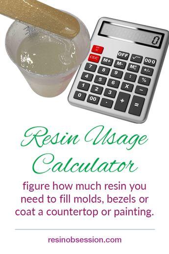 Resin Calculator