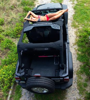 Jeep wrangler jeetop freedom top - see through panels - ver