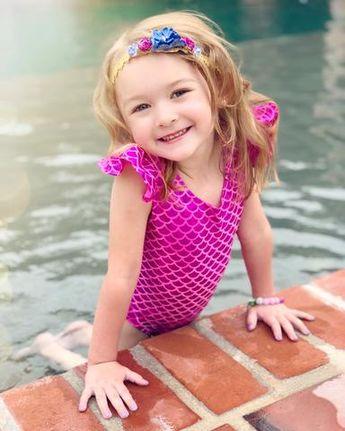 Merbabe™ Mermaid Shell Top & Tutu Skirt Set