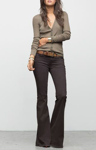 10 Super Chic Ways to Wear Flare Jeans