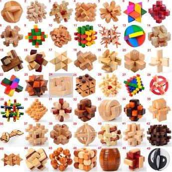 Resultado de imagen para wood string puzzles
