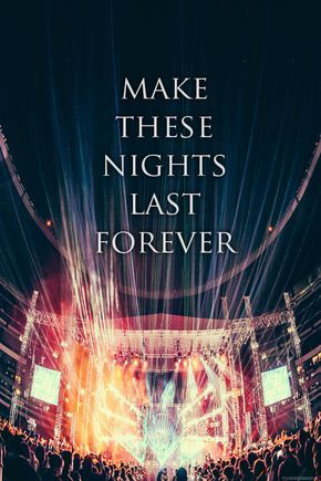 Concerts - the music, the atmosphere, the excitement, the crowd, the lights, feeling the bass pulse through you, jumping, dancing, screaming, laughing, singing, clapping, letting go of your troubles, bliss....unforgettable memories.