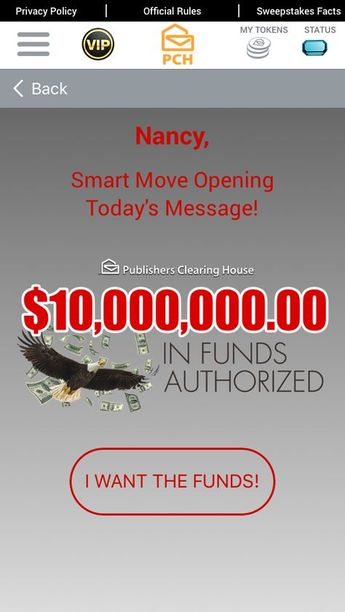 """Publishers Clearing House (""""PCH"""") brings you the PCH Win It"""