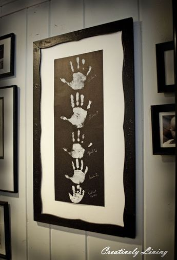 Gallery Wall Kid Art (With the Kids Wednesday #4