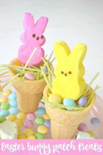 Easter Bunny Patch Treats