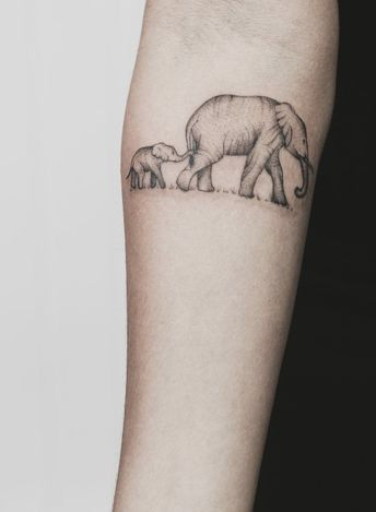 20 Reasons Why You Will Want To Get An Elephant Tattoo Ele