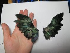 how to make wings!