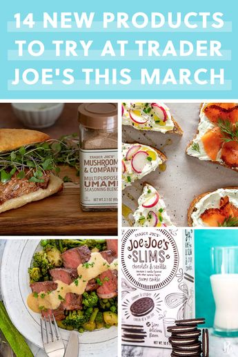 14 New Products to Try at Trader Joe's This March