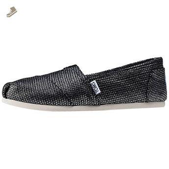 f986202bd0e0e Toms Del Rey Sneakers Navy Multi Woven 10007943 Womens 5.5