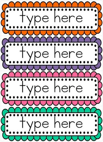 Editable word wall templates FREE to download