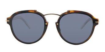 16885cedcfe31 Dior Eclat Tortoise   Blue Lens Sunglasses