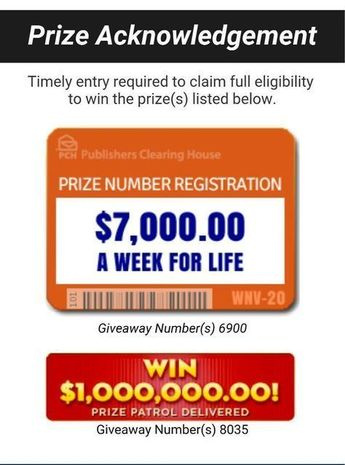 "Publishers Clearing House (""PCH"") brings you the PCH Win It"