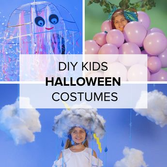 DIY Kids Halloween Costumes In 15 Minutes Or Less No one ever has to know that you spent 15 minutes or less making these costumes. They're as simple to make as signing up for GEICO, where you could save 15% or more on car insurance.