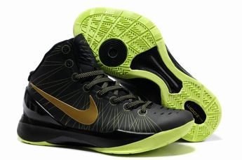 finest selection a8ca3 8e4e1 Nike Zoom Hyperdunk 2012 Elite Black Gold Volt 511369 009 Hyper Shoes 2013