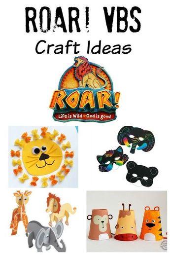 Roar! VBS Craft Ideas