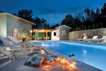 Villa Oliva in Istria, Croatia.  Villa Oliva is a beautifully renovated house, suitable for families or groups of friends holidaying together.
