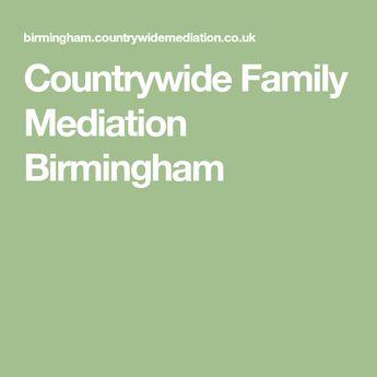 Countrywide Family Mediation Birmingham