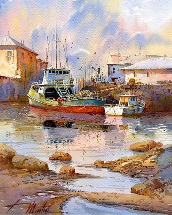 Watercolor by Faustino M. Gonzalez 🎨 . . . #artist #artistic #art #arte #watercolor #design #drawing #draw #sketch #sketchbook #paint…