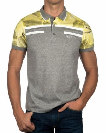 b2b95da5dce4f HUGO BOSS © Polo Shirt ✶ Dark Grey Paddy Pro | BEST PRICE