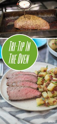 How to Bake Beef Sirloin Tri-Tip in the Oven