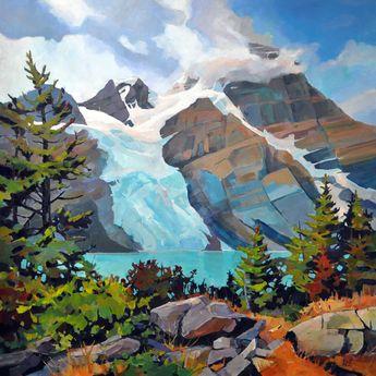 Berg Lake 48x48